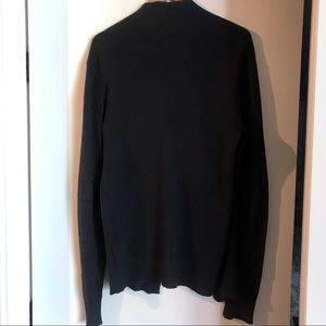 All Saints Sweaters - All Saints Cardigan Dark Navy Medium Mens